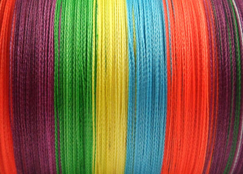 10 Colors 300M Multifilament Spectra Braided 4 Strands Sea Testing Fishing Lines