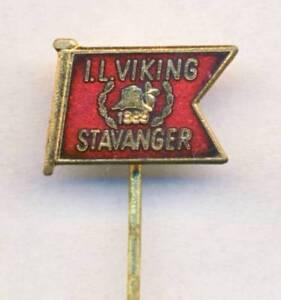 old-FK-VIKING-Stavanger-PIN-Badge-FOOTBALL-SOCCER-Club-NORWAY-Norge-NO