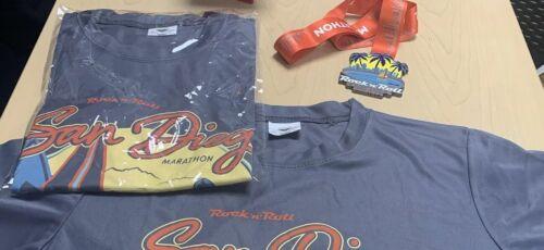 2019 San Diego ROCK /& ROLL MARATHON FULL Marathon MEDAL ONLY New Mint Condition