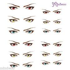 Obitsu 27cm Body 1/6 Size Dollfie Doll Eye Decal Sticker 17 (12 pairs)