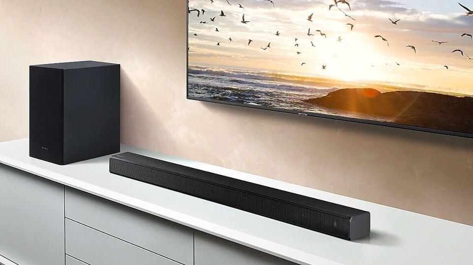 2.1 højttalersæt, Samsung, HW-T560 2.1ch Soundbar (2020)