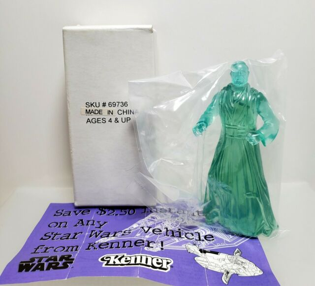 STAR WARS 1997 Kenner POTF SPIRIT of OBI-WAN KENOBI Figure SKU # 69736 w Coupon