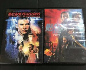 BLADE RUNNER  AND BLADE RUNNER 2045 2 MOVIE LOT DVD GREAT CONDITION