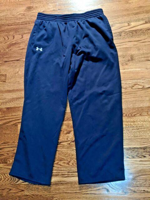 Under Armour Cold Gear men/'s lightweight fleece athletic Navy Pants size XXL