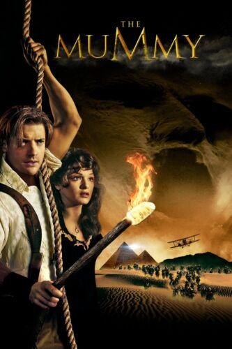 "/""The Mummy/"" ..Brendan Fraser Rachel Weisz ..Classic Movie Poster Various Sizes"