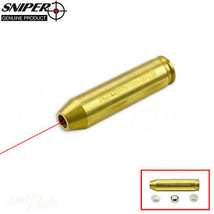 Details about Red Laser BoreSighter Bore Sight Rifle  243 / 308 WIN /  7MM-08 REM Scope Zeroing