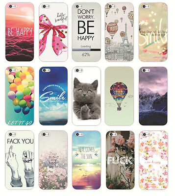 New Various Fashion Patterns Hard Back Phone Case Cover For iPhone 4S 5 5S 5C 6