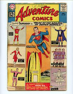 Adventure-Comics-300-Legion-begins-Key-Book-Affordable-Copy