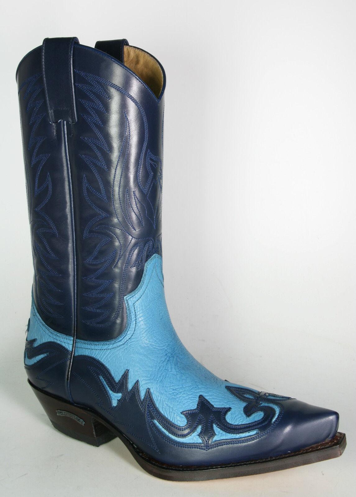 Billig gute Qualität 3241 Sendra Cowboystiefel Marino Azul