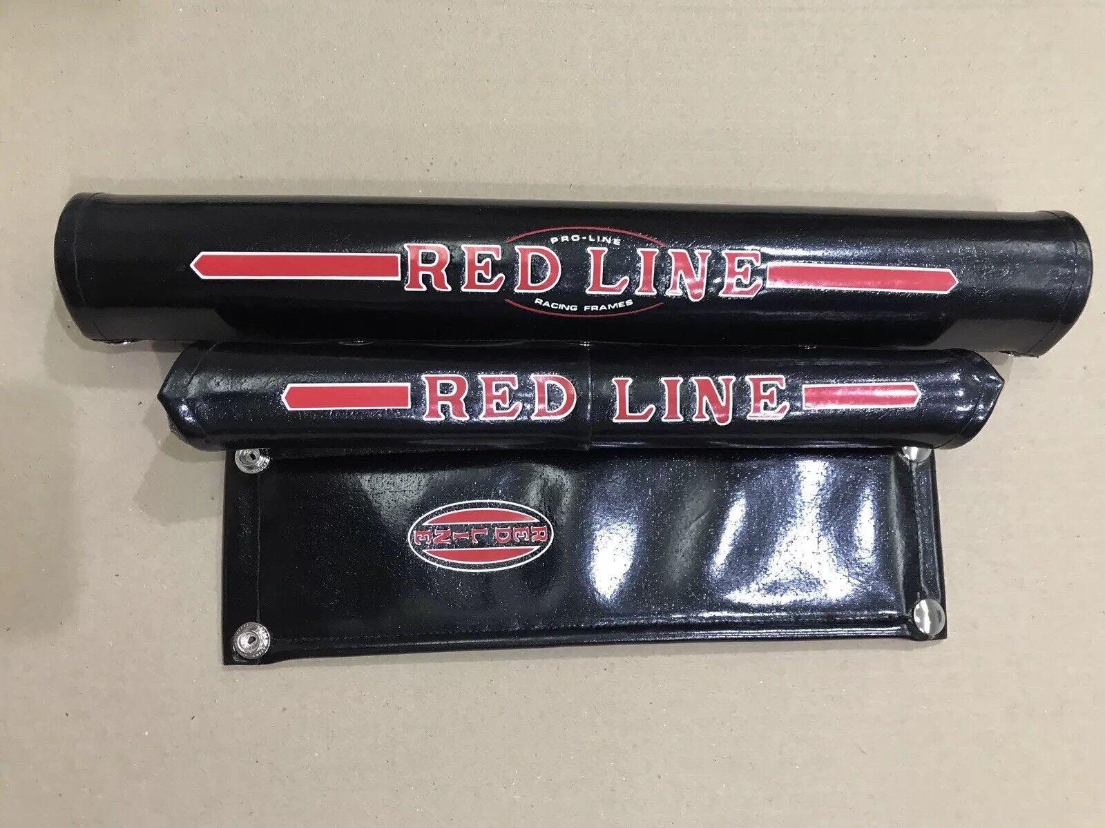 REDLINE PROLINE V-Bar B VINYL Pad Set P.K. Ripper  Oldschool Bmx REPOP Kuwahara