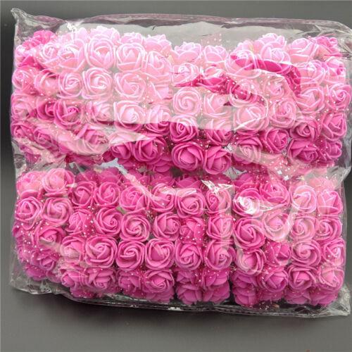 144pcs Bridal Schaum Rose Blumen Handgelenk Corsage Hochzeit Home Party Decor
