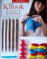 Expanded Knook Beginner Set W/ Five Different Sized Wooden Hooks Leisure Arts