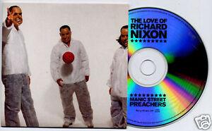 MANIC-STREET-PREACHERS-The-Love-Of-Richard-Nixon-2004-UK-1-track-promo-test-CD