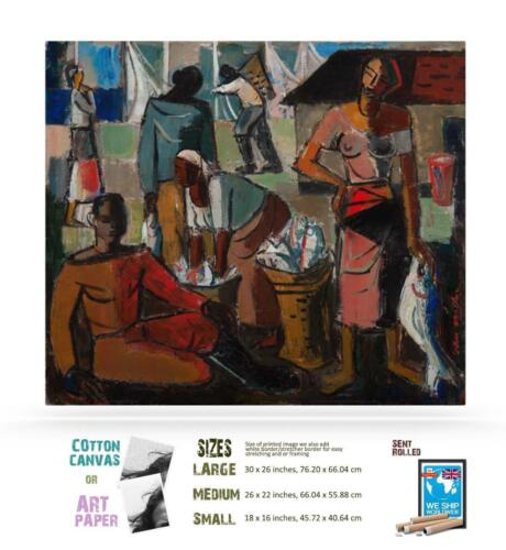 Wolf Kibel South African Expressionist Interior ART