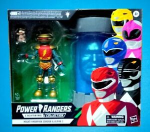 Power Rangers Lightning Collection Mighty Morphin Zordon & Alpha 5 figure 6''