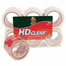 Duck Heavy Duty Carton Packaging Tape 3 X 55yds Clear 6pack 0007496