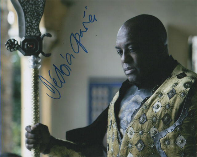 DeObia Oparei Game of Thrones Autographed Signed 8x10 Photo COA