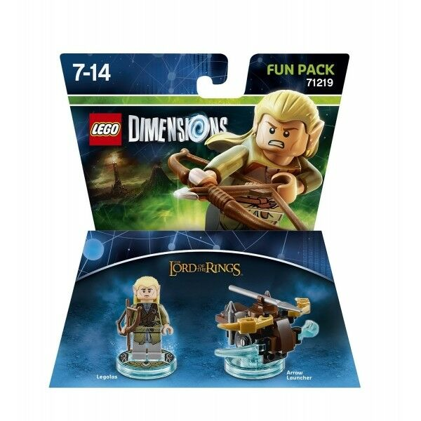 Lego Dimensions The Lord of the Rings Legolas Fun Pack 71219 New