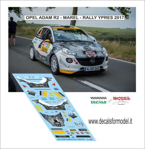 1//43 Opel Adam R2 Rally Ypres 2017 Marel Kit