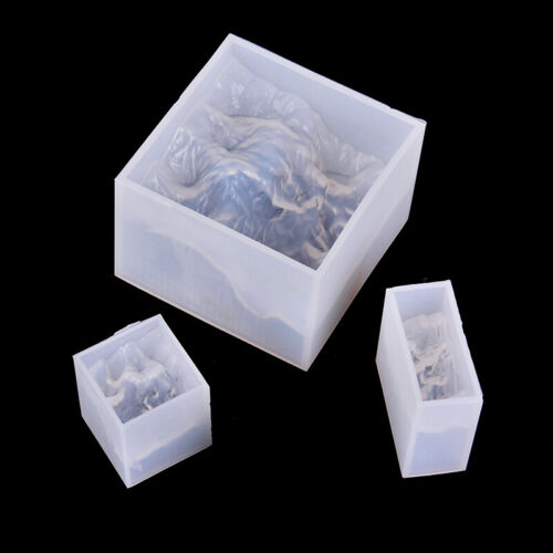 Mountain Peak Broken Silicone Mold Resin Jewelry Make Mould Epoxy Craft DIY T BW