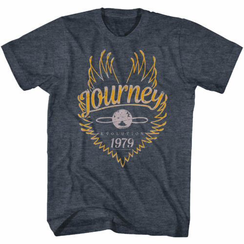 OFFICIAL Journey Evolution Tour 79 Men/'s T Shirt Rock Band Vintage
