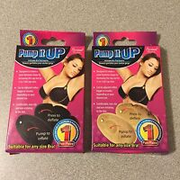 Pick Your Color - Pump It Up - Inflatable Bra Pad Insert - Cup Size Increaser