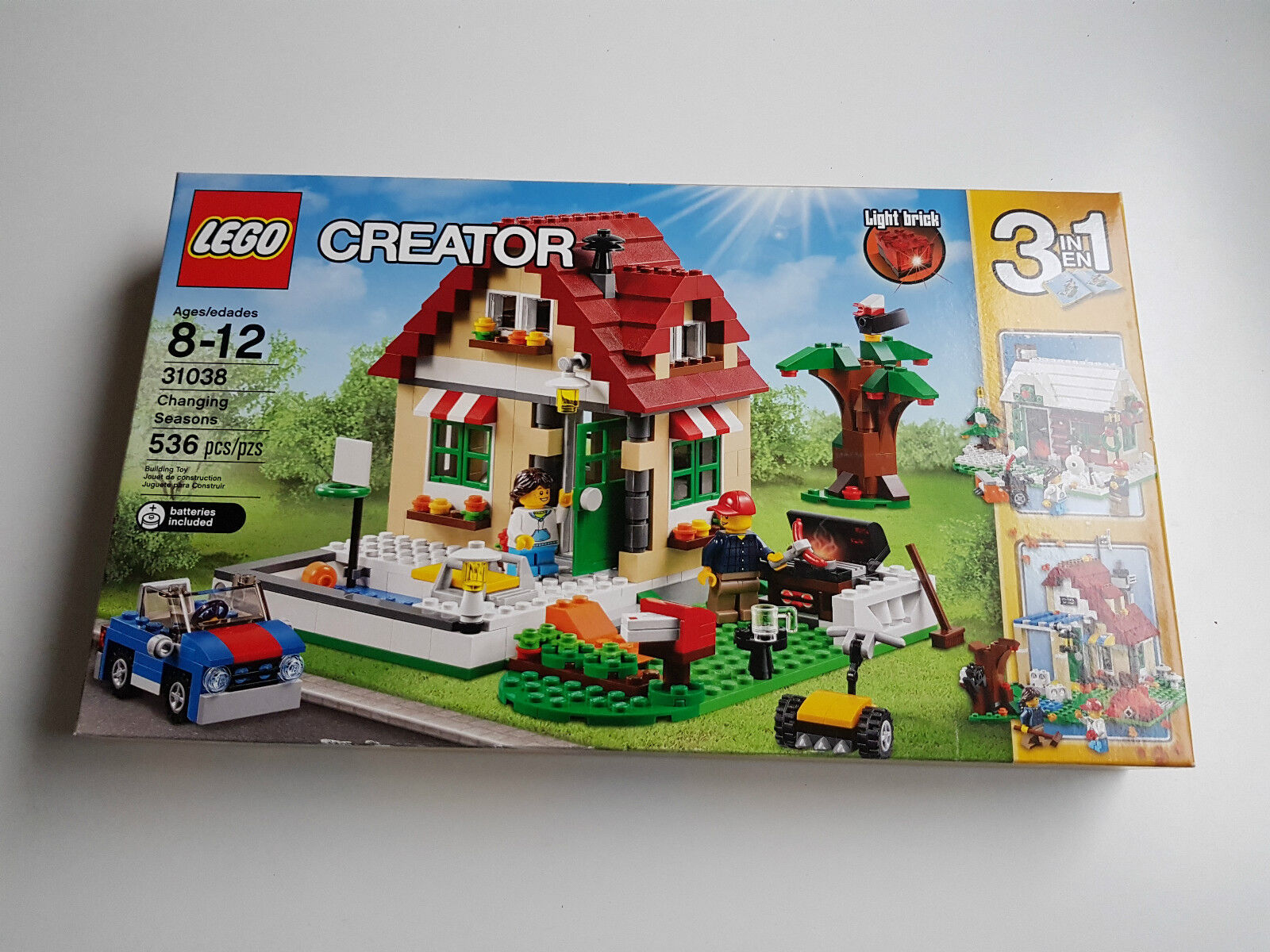 LEGO 31038  CREATOR Changing Seasons nouveau Never Opened  top marque