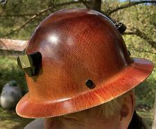 Msa Type 1 G Skullgard Full Brim Hard Hat Adj 6 12 8 Helmet Light Amp Cord Mount