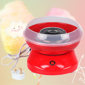 Electric-Candy-Floss-Machine-Sugar-Cotton-Maker-Home-Party-Sweet-Present-Gift-UK