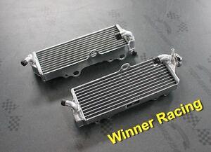 L&R aluminum alloy radiator Husqvarna TE/TC/TXC 450 2003-2010 04 05 06 07 08 09