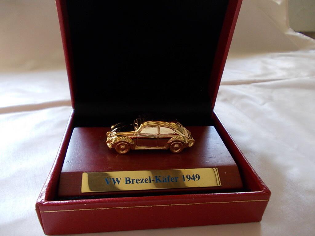 CMC a-002-2 ho 1 87 - VW MAGGIOLINO BISCOTTO-Maggiolino 1949 dorato (molto raro)