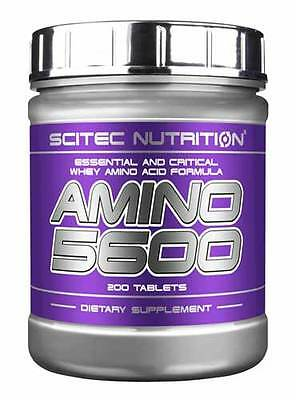 AMINO 5600 AMINOACIDI COMPLETI 500 COMPRESSE SCITEC NUTRITION AUMENTO MASSA
