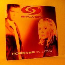 Cardsleeve Single cd SYLVER Forever In Love 2TR 2001 eurodance