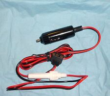 CB 3PIN POWER PLUG 5FT LONG WITH CIG PLUG FOR UNIDEN COBRA PRESIDENT AUDIOLINE