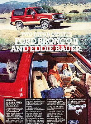 Advance 1980 Ford Bronco Classic Vintage Advertisement Ad D29
