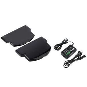 For-Sony-PSP-Slim-2000-3000-Slim-Extended-Battery-Door-Cover-Travel-Charger
