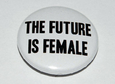 Girly Swot BUTTON PIN BADGE 25mm 1 INCHFeminism Feminist Lady Hale