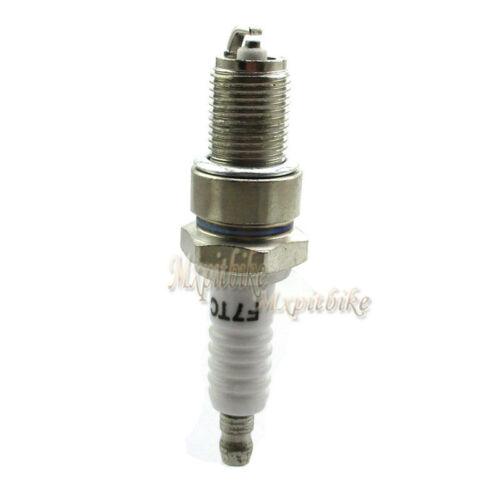 2x F7TC Spark Plug For GX120 GX160 GX200 Generator Lawnmower Water Pump Go Kart