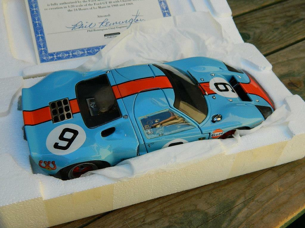 Revell creativo Masters 1:20 1968 Ford GT40 Coupe 9 - 1968 Lemans Winner Nuevo En Caja