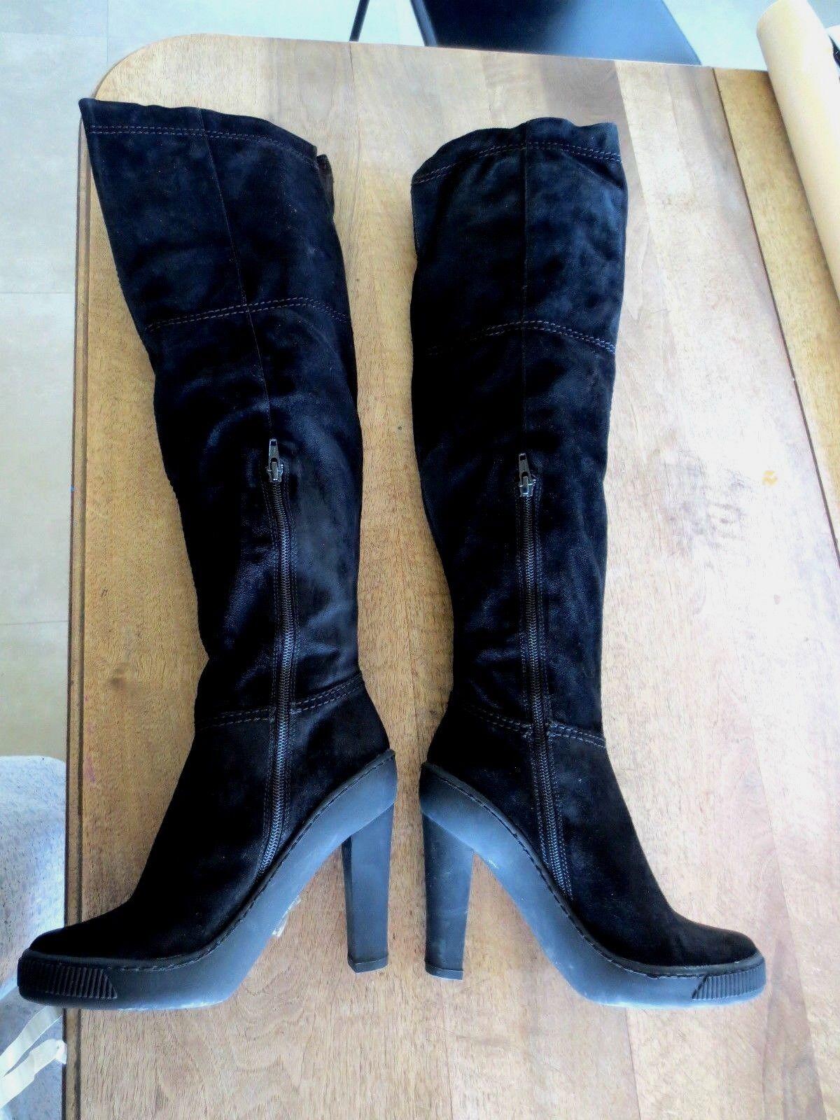 Leggings cabra gamuza negro para imaginábamos valor 299e 299e 299e zapato tamaños de 35,36,  venta