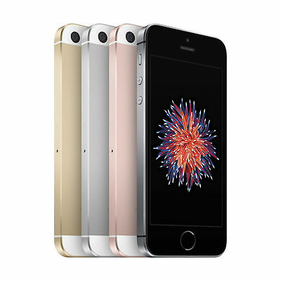 Apple iPhone SE - 16GB - (GSM Unlocked) Smartphone - Gray Gold Silver Rose Gold