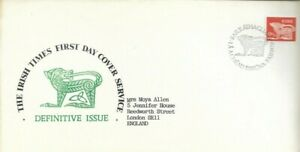Irish-Times-First-Day-Cover-Service-1979-Definitive-Issue-UK-FREEPOST