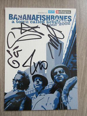Sammeln & Seltenes Musik Tt1 ZuverläSsige Leistung Bananafishbones Original Handsingnierte Autogrammkarte Autogramme & Autographen