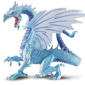 ice dragon fantasy safari ltd new toys educational toys for kids. Black Bedroom Furniture Sets. Home Design Ideas