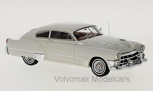 Tolle neo - modelcar cadillac series 62 club coupe 1949 - palegrau - 1   43