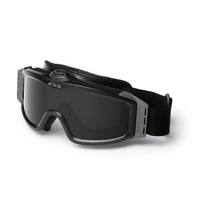 ESS Eyewear 740-0131 Black Turbofan Profile Goggles Eye Safety System