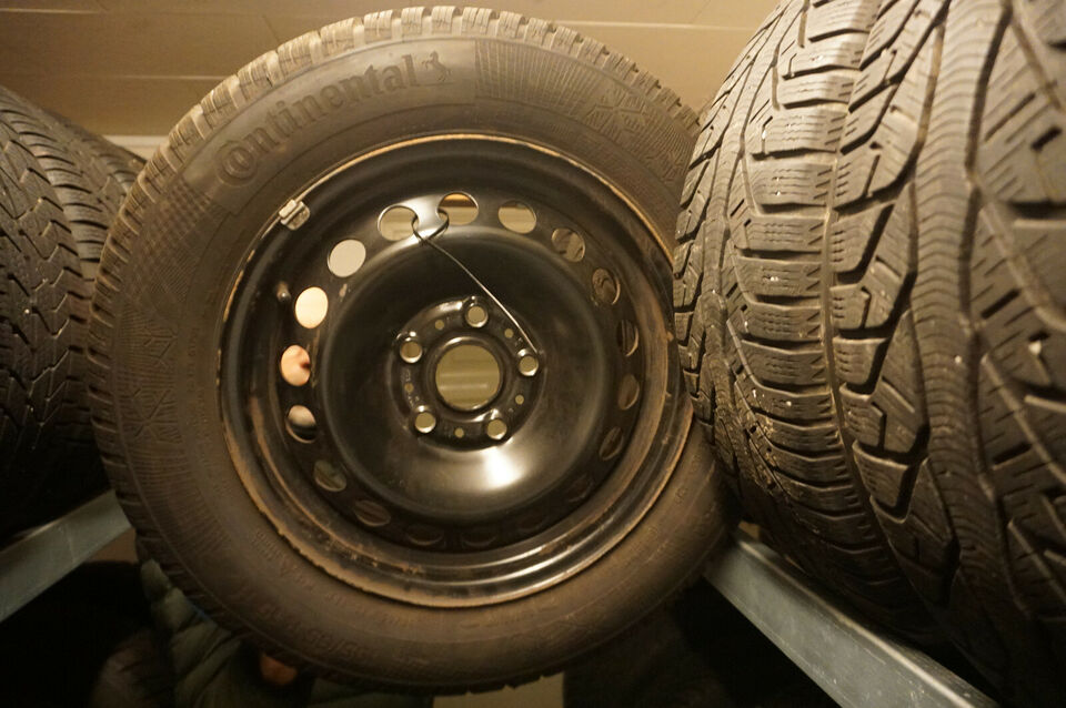 "VW Golf - Caddy - Touran 15"" Vinterhjul"