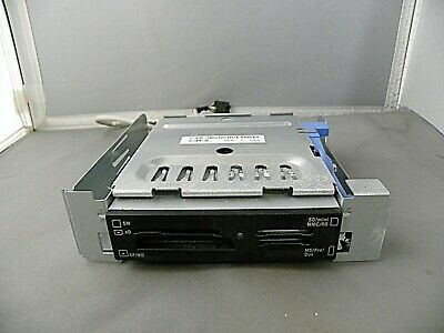 """Dell 19-IN-1 Media /& Flash Card Reader /& Cable 3.5/"""" 0G7V21 With Bracket NR95F"""