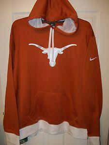 para Longhorns chaqueta Xl o Tama con Texas Nwt Nike Logo hombre Fit Xlarge Therma capucha pRwx8nq5Bn