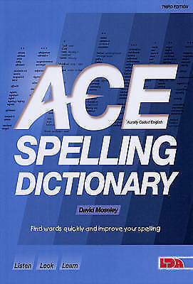 ACE Spelling Dictionary, Moseley, David, Good Book